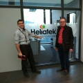 Finishing touches in project Alabo at Heliatek GmbH
