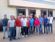 Modern sorting machines – a conference for a delegation from Ukraine