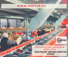 2-lanes sorting line model MS has been launched in Krasnodar