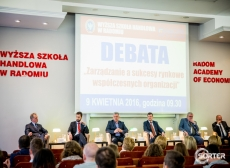 The debate of regional entrepreneurs with participation of Sorter