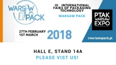 3rd International Fair of Packaging Techniques and Packages